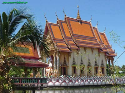 photo 18 English other very beautiful Buddhist temples Koh Samui Thailand 400